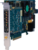 Model 7070-320 FMC FlexorSet 2-Ch. 3.0 GHz A/D, 2-Ch. 2.8 GHz D/A with Virtex-7 - x8 PCIe