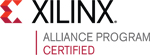 Certified Partner in the Xilinx Alliance Program