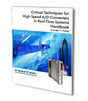 Critical Techniques for High Speed A/D Converters in Real-Time Systems Handbook