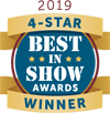 Four star Best in Show Award at the 2019 MTT International Microwave Symposium (IMS) conference