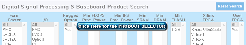 Processors and Baseboards Product Select Tool