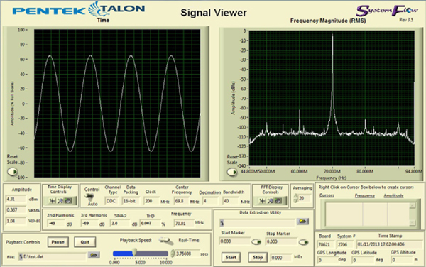 SystemFlow Signal Viewer